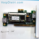 Transcoding Card G.729, PCI/PCIe