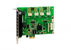 OpenVox A810EF  FXO/FXS Card with Failover onboard