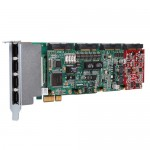 OpenVox X204 Hybrid Card supports all three types of telephony interfaces, integrates Analog, BRI and E1